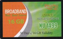 Bhutan, 16 GB, Broadband Voucher, 2 Scans.