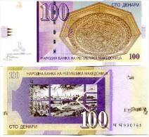 Macedonia 100 Denar 2002 Pick 16 UNC - Macedonia