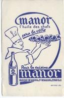 BUVARD HUILE DES CHEFS ÙANOR - HUILERIE DU MANOIR DEBALLON - ST PIAT - Alimentare