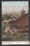 Japon - Kiyomizu Temple At Kyoto - Carte Colorisée - Kyoto