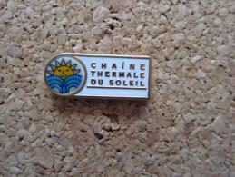 PINS ASSOCIATION CHAINE THERMALE DU SOLEIL