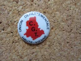 PINS CGT UNION DEPARTEMENTALE HAUTE VIENNE (87)