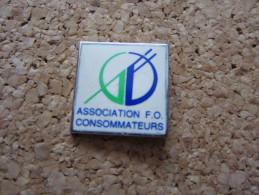 PINS ASSOCIATION FO CONSOMMATEURS