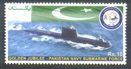 Pakistan MNH 2014 Goden Jubilee Pakistan Navy Submarine Force - Pakistan