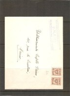 België Brief 1/7/51-30/6/52 - Precancels