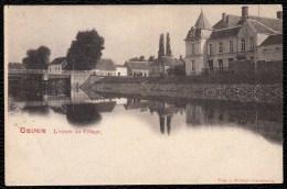 CPA * GAVERE - L'Entrée Du Village * Uitg. Gosseye (rode Kleur) - Gavere