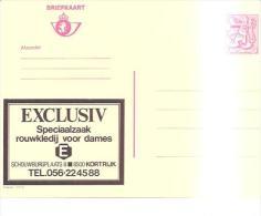 79543)interi Postali Pubblicitari Exclusiv-speciaalzaak-rouwkledij Voor Dames7 Fr - Ganzsachen