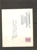 België Brief 1/149-31/12/49 - Precancels