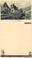 Ref 366-menu - Publicité -alcool - Cointreau - Haute Alsace - Kayserberg  - - Menus
