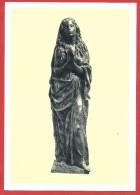 CARTOLINA NV ITALIA - FRANCESCO MESSINA - Maria Di Magdala - Galleria Arte Sacra Contemporanei Milano - 10 X 15 - Sculture