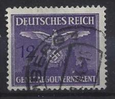 Generalgouvernement 1943  Dienstmarken  (o) Mi.28 - Occupation 1938-45