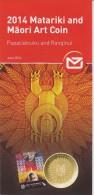 New Zealand 2014 Brochure About  Matariki And Maori Art Coin - Materiaal