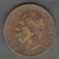 REGNO D' ITALIA - 10 CENTESIMI - UMBERTO I (1893 - ZECCA: BIRMINGHAM) - ITALIAN KINGDOM - - 1861-1946 : Regno