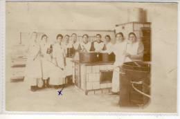 Küchen Brigade - Unbekannter Ort,  Foto AK - Genealogie