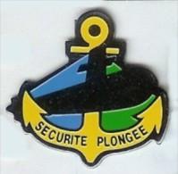 @@ Ancre Marine Nationale Sous Marin Sécurité Plongée @@ma56a - Militair & Leger