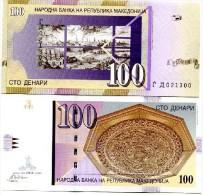 Macedonia 100 Denar 2004 Pick 16 UNC - Macedonia