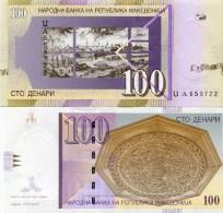 Macedonia 100 Denar 2005 Pick 16 UNC - Macedonia