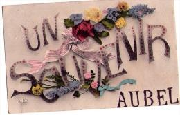 Aubel : Un Souvenir D'.... - Carte Couleur(1911) - Aubel