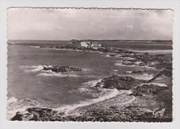 35 - SAINT MALO - Le Fort National Et La Pointe De La Varde - 1955 - GREFF N° 132 - 2 Scans - - Saint Malo