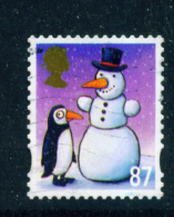 GREAT BRITAIN  -  2012  Christmas  87p  Used As Scan - Used Stamps