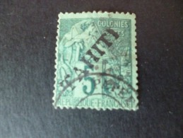 TP Colonies Françaises Tahiti Oblitéré  N°10 Valeur 53 €.Etat Voir Photos SVP - Tahiti (1882-1915)