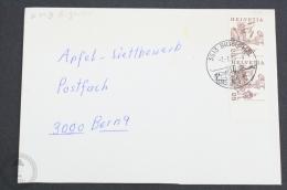 Helvetia Special Postmark Train/ Railway Topic  Cover - 3513 Bigenthal 1985 - Trains