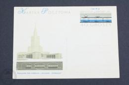 Train/ Railway Topic Postcard - Poland 1979 - Trains
