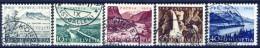 ##B656. Switzerland 1954. Michel 597-601. Cancelled(o) - Pro Patria