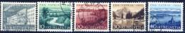 ##B659. Switzerland 1955. Michel 613-17. Cancelled(o) - Pro Patria