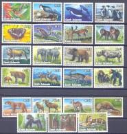 1993.  Wildlife, Fauna, 23v, Mint/** - Briefmarken