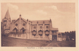 SAMOA, MOAMOA, L'église, Vue Latérale - Samoa