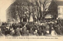 89 Jully. Foule Aux Obseques Des Victimes Du Crime De Jully - France