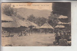 PHILIPPINEN, Fuagos - Dorf, 1924,  Völkerkunde / Ethnic - Philippinen