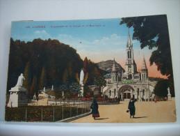LOT B DE 100 CARTES POSTALES ANCIENNES  SUR LOURDES TOUTES SCANNEES - Lourdes
