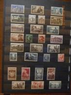 Francia 1924-1953, Lotto Di Circa 55 Francobolli Nuovi ** Trai Quali La Serie N° 765-770, 451-452, E I N° 214 E 879 - France