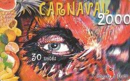 TELECARTE CARNAVAL 2000 POLYNESIE FRANCAISE - French Polynesia