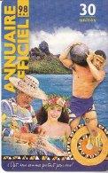 TELECARTE ANNUAIRE OFFICIEL MAI 98 POLYNESIE FRANCAISE - Polinesia Francese