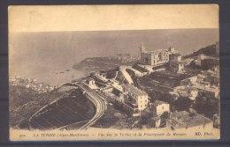 CP 052 :  La Turbie , Vue Sur La Turbie Et Monaco - La Turbie
