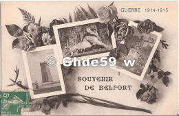 Guerre 1914-1915 - Souvenir De BELFORT - Belfort - Città