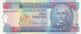 Two Dollars Barbados QFDS - Barbados