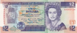Two Dollars Belize 1990 Qfds - Belize