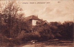 """#3092 Hungary, Zebegény, Postcard Mailed 1907: Part Of  """"Malompatak"""" - Hongrie"""