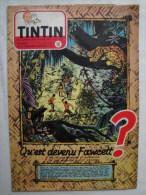 Tintin N° 16 De 1953  Couverture Et Histoire Complete De Weinberg  Fawcett Bon état - Kuifje