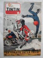 Tintin N° 1  De 1954  Couverture Et Histoire Complete De Graton , Course Motos Bon état - Tintin