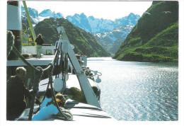 Norge - Norway - Norwegen - Trollfjorden - Ship - Schiff - Nice Stamp - Norwegen
