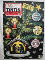 Tintin N° 51 De 1954  Couverture De Hergé  + Calendrier 1955 Bon état - Tintin