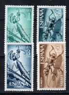SAHARA 1965 PRO INFANCIA   EDIFIL Nº 242/245 NUEVO  SIN CHARNELA  SES169 - Sahara Español
