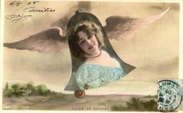 Anna Held.Voyages De Cloches.Photo Reutlinger.SIP N°933/2. - Artiesten