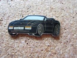 RARE GRAND PINS PORSCHE 944 S2 NOIR DOUBLE ATTACHE - Porsche