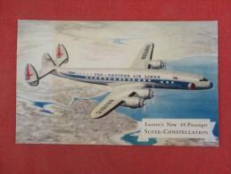 Easter Air Lines  Super Constellation   Ref   1395 - 1946-....: Moderne